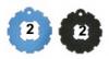 2. Biopress 4000/5000 Sæt 2xSort + 1xBlå