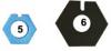 5&6. Biopress 6000/1000 Sæt 2xSort + 2xBlå